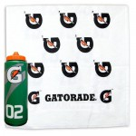 Gatorade Water Bottle and Towel